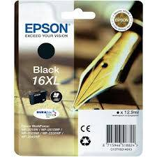 Epson Singlepack Black 16XL DURABrite Ultra Ink 12,9ml