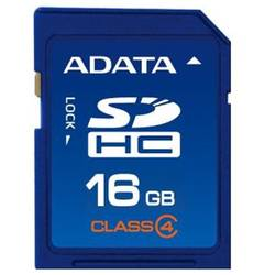 A-Data Card de memorie SD 16 GB - Class 4 - 99 ani ASDH16GCL4-R