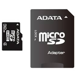 A-Data Card de memorie microSDHC 32 GB Class4 cu adaptor SD - 99 ani AUSDH32GCL4-RA1