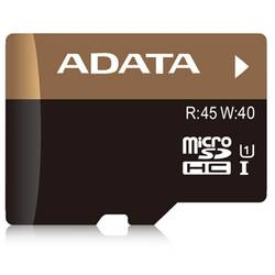 ADATA Card de memorie microSDHC Ultra-High Speed 16 GB pt smartphones and tablet cu adaptor - 99 ani AUSDH16GUI1-RA1
