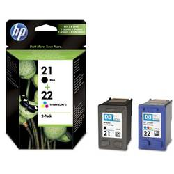 Combo Pack Nr.21 + Nr.22 Sd367Ae Original Hp Deskjet 3940 SD367AE