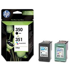 Combo Pack Nr.350 + Nr.351 Sd412Ee Original Hp Officejet J5780 SD412EE