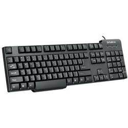 DELUX Tastatura PS/2 DLK-8050P-black