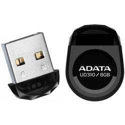 ADATA Memorie USB 8GB Durable Waterproof and Shock-Resistant AUD310-8G-RBK