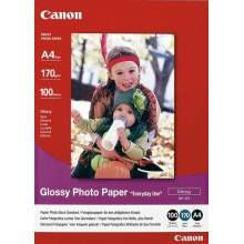 Hartie Foto Canon GP-501, 100 sheets A4 photo paper 170g/m2, Glossy Photo Paper BS0775B001AA
