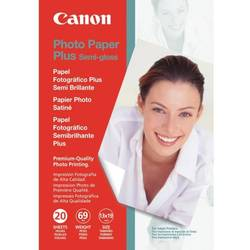 Hartie Foto Canon SG-201S, 50 sheets 4x6 inch photo paper, Photo Paper Plus Semi-gloss BS1686B015AA