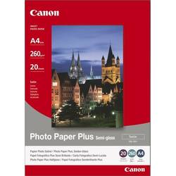 Hartie Foto Canon SG-201A4, 20 sheets A4 photo paper 260g/m2, Photo Paper Plus Semi-gloss BS1686B021AA