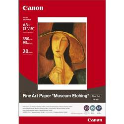 "Hartie Foto Canon FA-ME1 A3+, 20 sheets A3+ photo paper 350g/m2, Fine Art Paper ""Museum Etching"" BS1262B007AA"