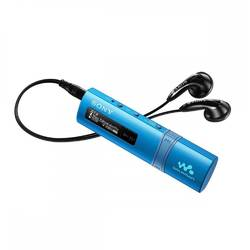MP3 Player Sony NWZB183L, 4GB, Albastru