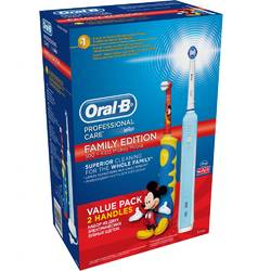 Oral-B Periuta electrica Kids Mickey Mouse D16.513.U Professional Care 500 + D10.51
