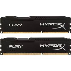 KINGSTON Memorie 8GB DDR3 1600MHz (Kit of 2) HyperX FURY Black Series