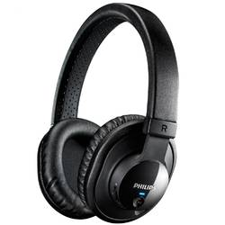 Casti audio cu banda Philips SHB7150FB/00, Bluetooth, Negru