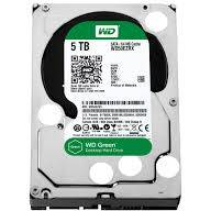 "Western Digital HDD Desktop Green, 3.5"", 5TB, 64MB"