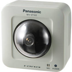 Panasonic Camera IP H.264 streaming up to 30 ips, 1.3 megapixel images up to 1280x960 WV-ST165