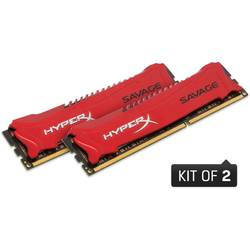 KINGSTON Memorie 16GB 2400MHz DDR3 (Kit of 2) HyperX Savage HX324C11SRK2/16