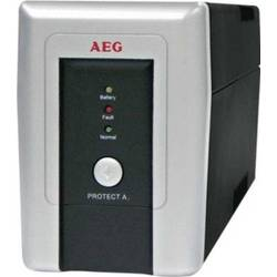 AEG UPS Tower, autonomie PC+monitor 15 min, 500VA, 300W, baterii integrate