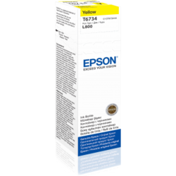 Cartus cerneala Epson t67344 yellow inkjet bottle