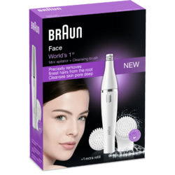 Braun Epilator facial SE820 Beauty Edition