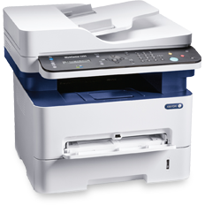 Multifunctional laser monocrom Xerox WorkCentre 3225, Retea, Wireless, USB 2.0