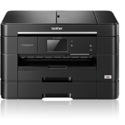 Multifunctional inkjet Brother MFC-J5720DW, A3, 22/20 ppm, ADF 50 coli, duplex A4, Wireless, Ethernet, USB 2.0