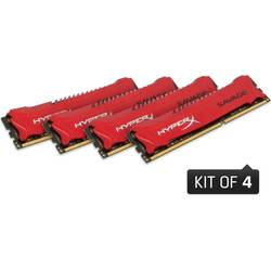KINGSTON Memorie 32GB 1600MHz DDR3 (Kit of 4) XMP HyperX Savage