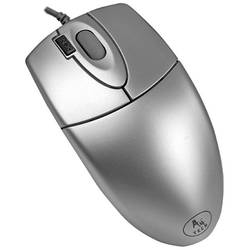Mouse A4tech, PS2, Silver