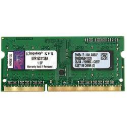 KINGSTON Memorie SODIMM 4GB DDR3 1600MHz