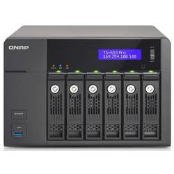 QNAP NET STORAGE SERVER NAS RAID USB3 TS-653 PRO