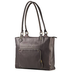 "Geanta Laptop HP Ladies Brown Leather Tote, 15.6"", Brown"