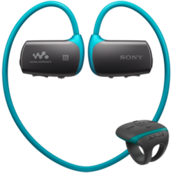 Sony Mp3 Player Sport NWZWS613B, 4GB, Waterproof, Bluetooth, Albastru