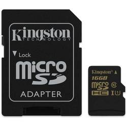 KINGSTON Micro SD Card, 16GB, Clasa 10