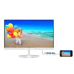 "Philips Monitor LED IPS Panel 23"", Wide, Full HD, HDMI, Boxe, Alb Lucios"