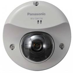 Panasonic Camera IP de Exterior tip Dome, H.264 streaming up to 30 fps, 3.1Mp