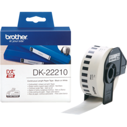Brother DK22210 Tape 29mm Ribbon Cartridge
