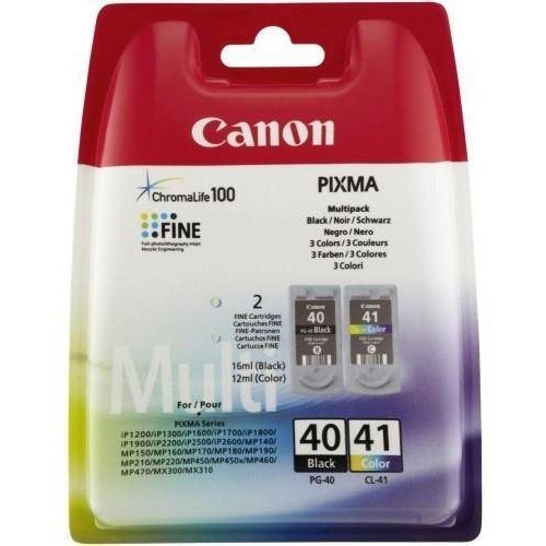 Canon Cartus PG-40 + CL-41 Multipack poza 2021