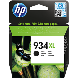HP Cartus 934XL Black