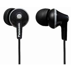 Casti Panasonic In-Ear RP-HJE125E-K, negru