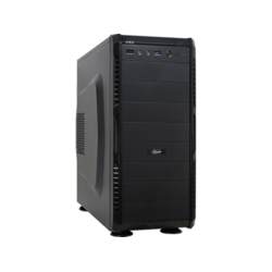Inter-Tech Carcasa SY-608 Black, ATX Mid Tower