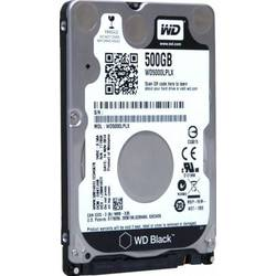 Western Digital HDD Notebook 500GB WD Black,2.5'',7200 RPM, SATA3