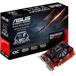 ASUS Placa video R7 250, 2048MB DDR3, 128bit