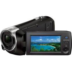 Sony Camera video cu proiector incorporat HDRPJ410B, Full HD, Negru
