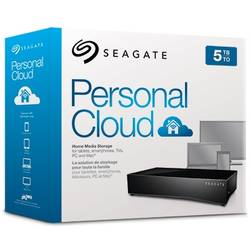 Seagate NAS 1 Bay, 5TB, Personal Cloud Media Storage