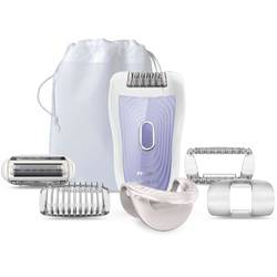 Philips Epilator Satin Soft HP6523/02 Wet & Dry, 20 puncte de prindere, 2 viteze
