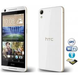 Telefon Mobil Dual SIM HTC Desire 626G Plus 8GB White Birch