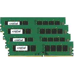 Crucial Memorie Kit 32GB (4x8GB) DDR4 2133Mhz