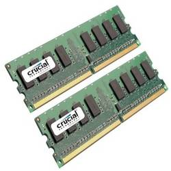 Crucial Memorie Kit 4GB (2+2GB) DDR2 800 Mhz