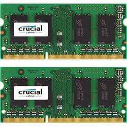 Crucial Memorie notebook Kit 4GB (2+2GB) DDR3 1600Mhz