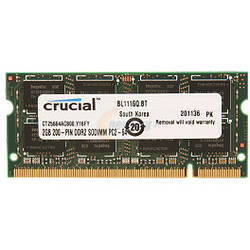 Crucial Memorie notebook 2GB DDR2 800Mhz