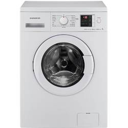 Daewoo Masina rufe 7 kg, clasa A++, 1200 RPM, display, Air Bubble, alb