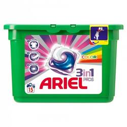 Ariel gel capsule Pods Color 15*28ml